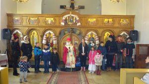 Dzień ze św. Mikołajem - 18.12.2016